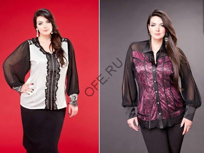 Блузки с прозрачными плечами