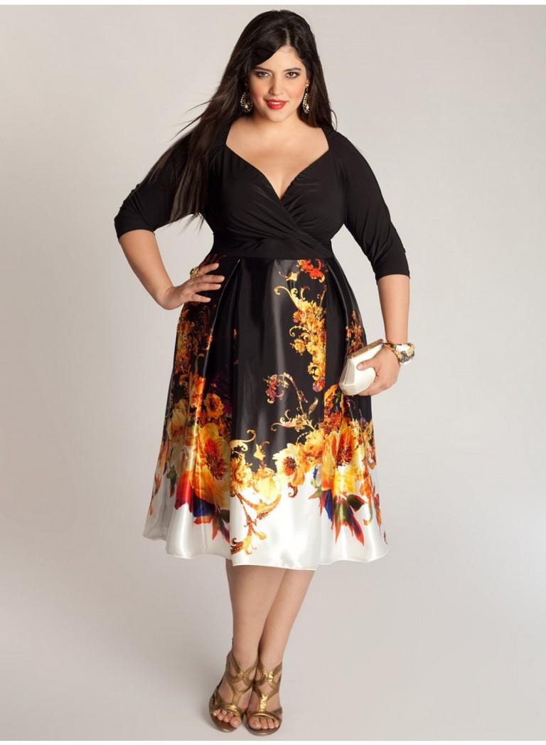 Дизайн платья фото для полных девушек фото