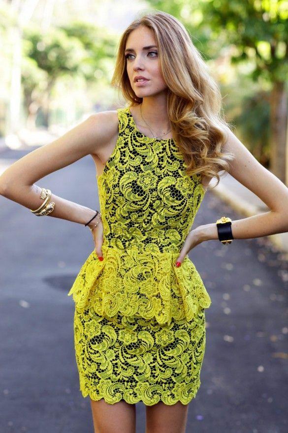 Кружевное платье для вечеринки