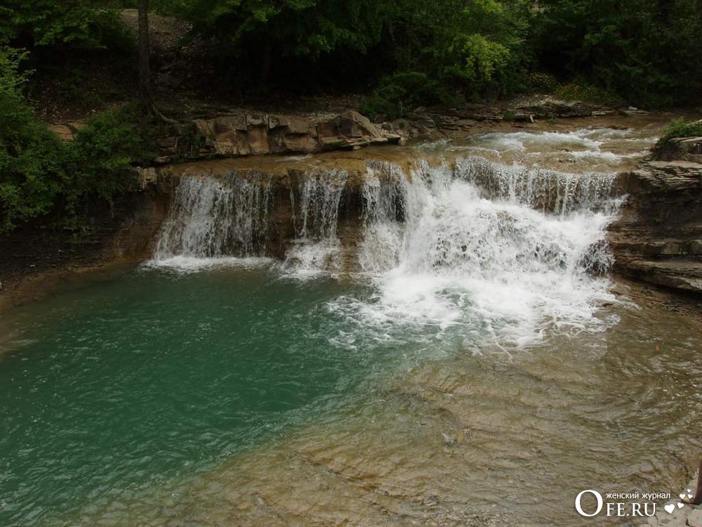 Водопады Жене