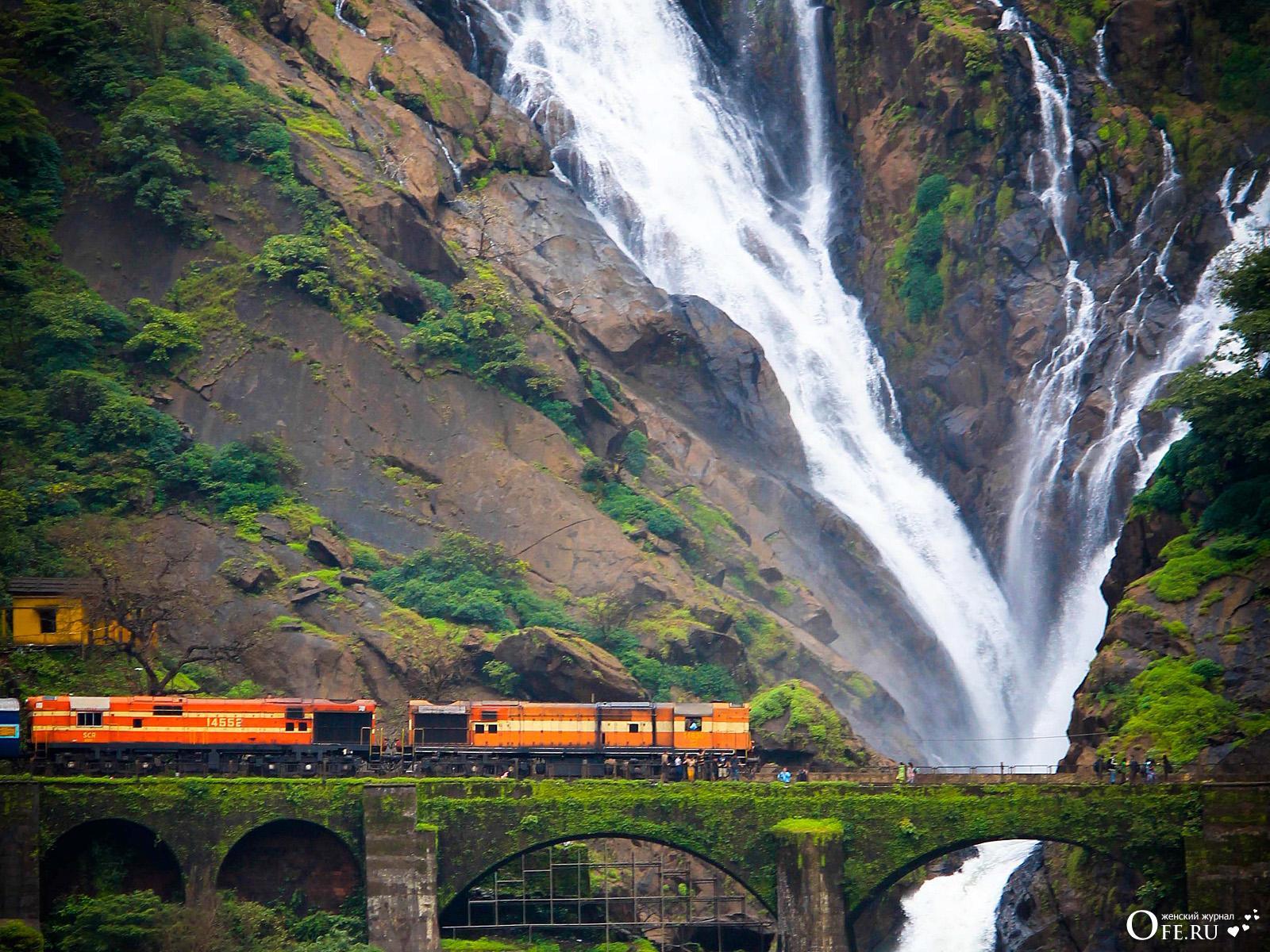 Водопад в Индии