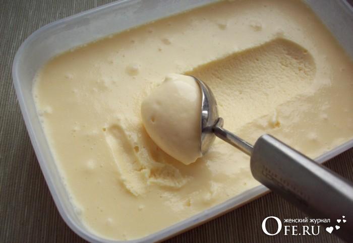 Мороженое дома