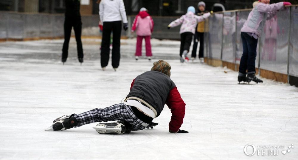 Как научиться кататься на коньках с нуля