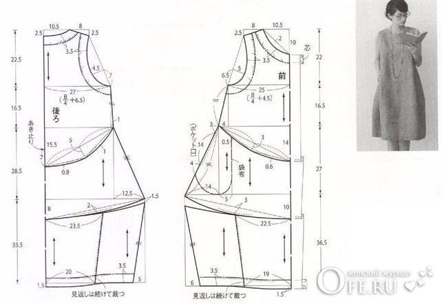 Выкройка платья в стиле бохо своими руками для полных