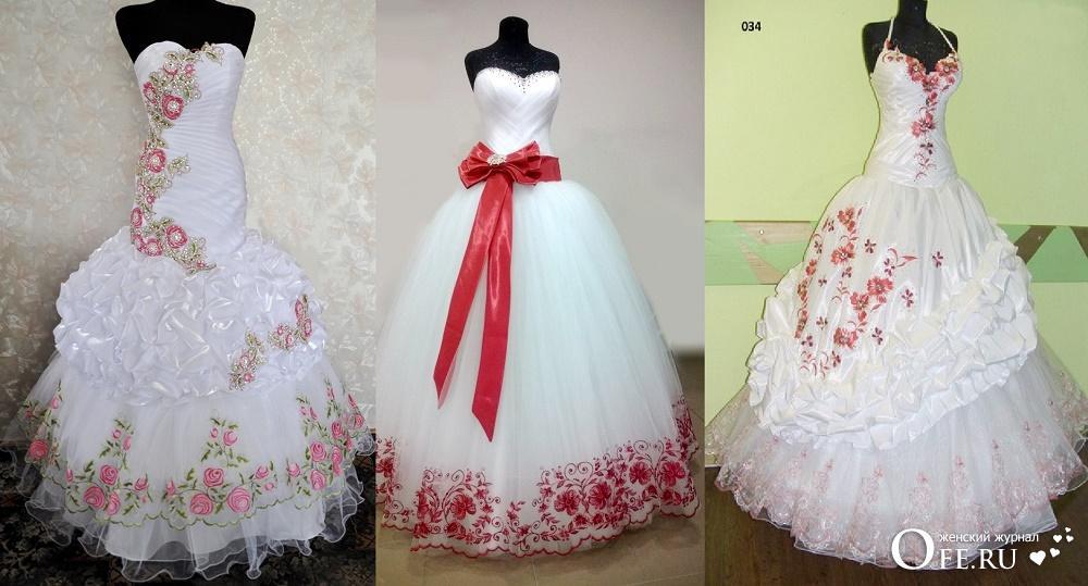 Красивые свадебные платья 2018