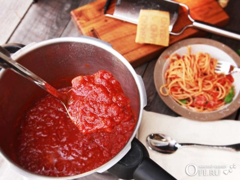 Подлива из томатной пасты рецепт
