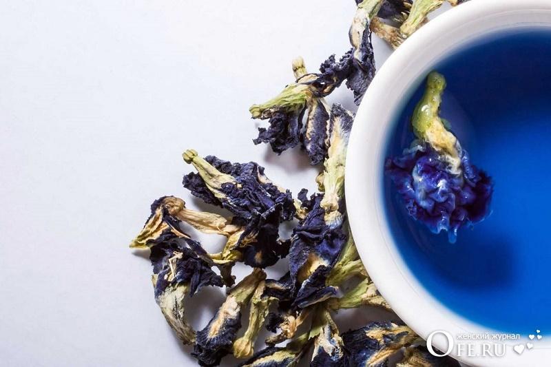 Как правильно заваривать синий чай